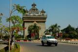 Patuxay Park - Vientiane 2007