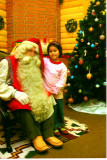 Tammy &  Santa Dec 2007