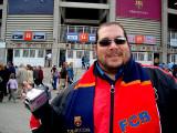 Don Gato outside Camp Nou - Barcelona 2007
