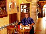 La Oca, my favorite Restaurant in Sidges, Catalonia 2007