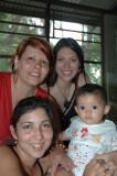 Yami, Carla, Rebeca & Genesis 2008