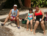 Ronald, Gaby & Tammy - Punta Leona Beach Resort 2008