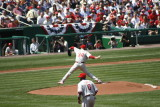 Halladay's first pitch as a Phillie