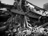 Earthquake Destroyed Wing of the Cyvadier Plage