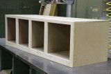 The lower cabinet is done