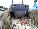 North Star at the Esquimalt graving dock