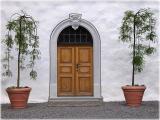 castle's door / Türe der Burg Zug