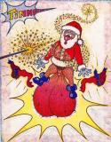 SANTA! Voilà! Dit la Fée au Pere Noel