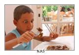 Breakfast in Kos, August 2007