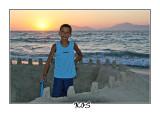 Sand castle, August 2007