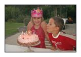 Jolien's 9th birthday, August 2005