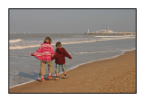 An autumn day in Oostende, October 2005
