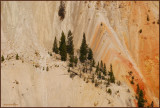 43- Artist Canyon at Yellowstone National Park.