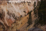 65-  Artist canyon at  Yellowstone National Park