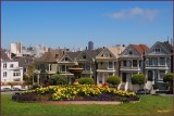 San Francisco  Painted Ladies section of Victorian Homes