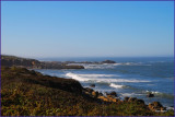 .Scenic  Route 1 along the Paciffic Ocean
