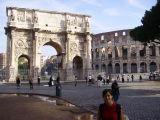 Colisseum i Arc del Triomf