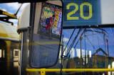 on tram No.20