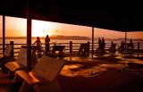 Sunset on Calzada de Amador