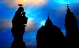 religious skyline of Prague