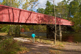 Bridge at Ralph Stover State Park