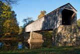 Covered Bridge at Tyler State Park
