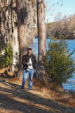 Me at Greenfield Lake in Wilmington