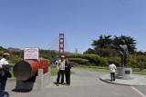 Monique and Johann at Golden Gate