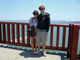 Nick and Allie on Golden Gate bridge
