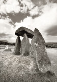 Hiding or seeking, Pentre Ifan