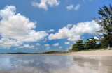 Flat Sea Reflection