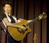 Michelle Shocked, Willy Porter in Chico, Calif., Sept. 17, 2008