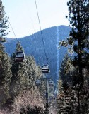 Heavenly ski resort's gondola, S. Lake Tahoe