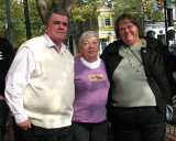 Donna with Alan's mother Sandy and her husband Bob