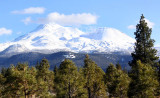Mt. Shasta from the city of Weed