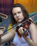 Saraha Hamilton of the Done Gone String Band