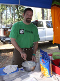 Mmmm, campground pancakes!