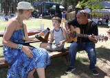 Morley sings Bees Green, Tall Trees, a song she just co-wrote with 11-year-old boy, Josh