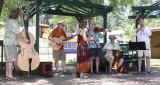 Troika folk musicians