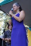 Meadow/Spotlite stage emcee Lisa Bryant