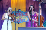 Odessa Jorgensen (left) and Kate Hamre of Alaska's Bearfoot, Spotlite Stage