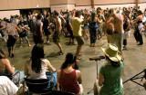 Yeh Dede leads late night drumming