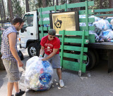 Chico State University AS Recycling volunteers