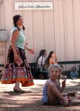 Dancing near the Sierra Stage
