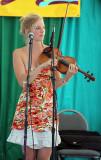 Bearfoot's Odessa Jorgensen on the SIerra Stage