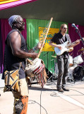 Issa Bagayogo, from Mali, Pine Tree stage