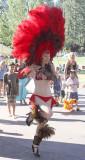 Nicole, parade dancer