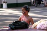 Young festival participant