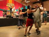 Pub Scouts lead contra dance