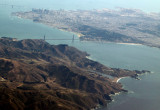 Golden Gate Bridge and the city of San Francisco